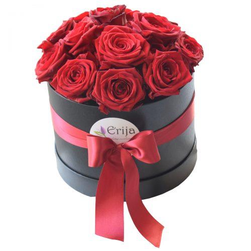 Flowerbox rdeča vrtnica